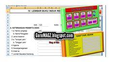 Aplikasi Buku Induk Siswa K13 dan KTSP ~ GuruMagz