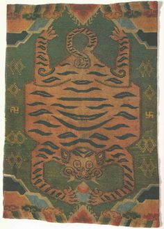 The Flying Carpets: Why Are Tibetan Tiger Rugs All The Rage? By Bruce McLaren