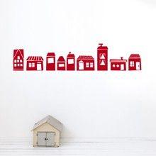 The Village wallsticker from Danish fermliving.com