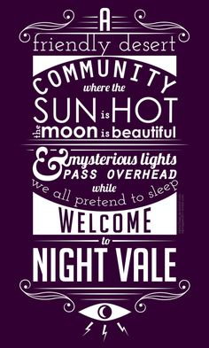 Update: Contest is over and winners have been picked. (I was not a finalist for voting.) My entry for the Welcome to Night Vale t-shirt contest. I don't think it's a winning design, but was worth s...
