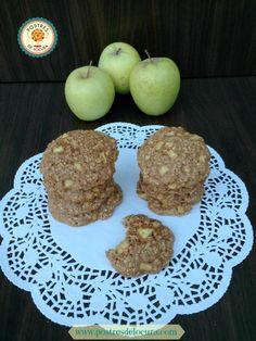 Galletas de manzana y avena