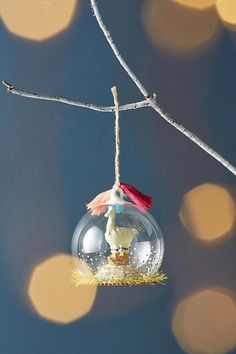 Slide View: 1: Holiday Habitat Ornament