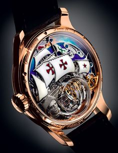 Charting a course towards the exceptional ZENITH ACADEMY Christophe Colomb Hurricane Grand Voyage (See more at: http://watchmobile7.com/articles/zenith-academy-christophe-colomb-hurricane-grand-voyage) (7/8) #watches #zenith #zenithwatches
