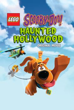 Lego Scooby Doo: Haunted Hollywood Movie Poster - Frank Welker, Grey Griffin, Matthew Lillard  #LegoScoobyDoo, #HauntedHollywood, #MoviePoster, #KidsFamily, #RickMorales, #FrankWelker, #GreyGriffin, #MatthewLillard