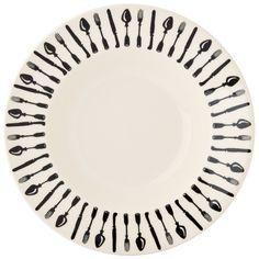 Knives & Forks Soup Plate 2016
