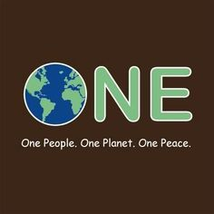 We are all one.