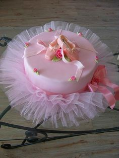 tutu cake by rosella What a great Birthday Cake for a little girl...