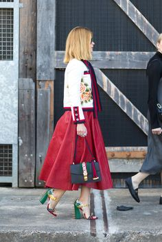 Hey, Sheila: Street Style from Australian Fashion Week - May 2016 #Gucci