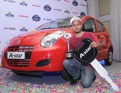 The Maruti Suzuki Autocar Young Driver contest 2012 is an event which is organized to test knowledge of participant's related to real life driving skills, traffic rules as also road safety. This competition is attended by individuals from all over the country and the winner is chosen based on the above factors. In order to expand its reach to many the event incorporated two new categories: a female category to encourage participation of the fairer sex and a category that promotes responsible