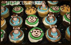 Cheeky monkey cupcakes