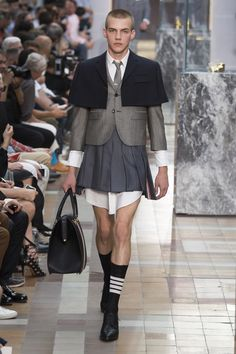 Thom Browne | Menswear - Spring 2018 | Look 31