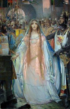 Pape, Eric (Frederic L. Pape - b,1870)- Duchess Yolande, 1919