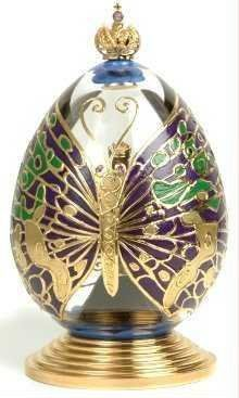 "Turn Theo Fabergé's egg, and the surprise is revealed; ""The glory of another butterfly, the rainbow wings, the record of his day"". Description from fabeggs.com. I searched for this on bing.com/images"