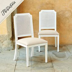 Casa Florentina Luisa Side Chairs - Set of 2