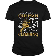 Old Man Who Loves Climbing