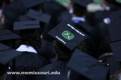 Northwest Missouri State University awarded 468 students with their academic degrees during its winter commencement ceremony, Dec. (Photo by Darren Whitley/Northwest Missouri State University)