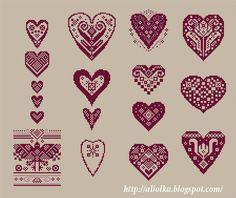 мои творилки: Сердечки-думочки