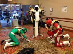 Power Rangers Bow Before Tyrael