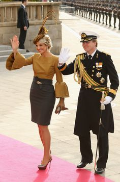 Princess Maxima Photo - The Wedding Of Prince Guillaume Of Luxembourg & Stephanie de Lannoy - Official Ceremony