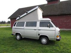 '87 Volkswagen Bus Vanagon Westfalia Camper | eBay
