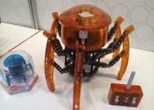 Flying, crawling, shooting and rolling: the best little moving vehicles and critters from the Toy Fair floor.