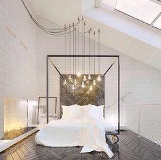 Bed on Wheels | #sleep #illumination #modern #design #surface #whites #interiors
