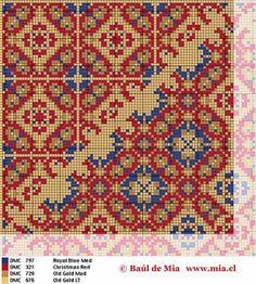 Cross Stitch Borders, Cross Stitch Charts, Cross Stitch Designs, Cross Stitch Patterns, Diy Embroidery, Cross Stitch Embroidery, Embroidery Patterns, Chart Design, Knitting Charts