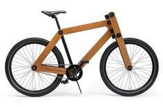 Le vélo en kit #velo #bois #aluminium #kit #sandwichbike #wood #bike #fixie