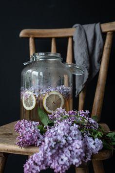 trickytine ♥ süßer hausgemachter fliedersirup -  homemade lilac syrup