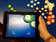 The Green Classroom: QR Codes and Bottle Cap Fun!