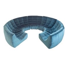 France, 1972 Very rare extra large 'Gilda' circle sofa by Michel Ducaroy made in The sofa is manufactured by 'Roset' the company name of Ligne Roset prior to