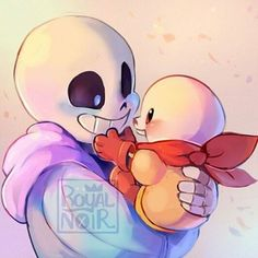 Sans & baby Papy