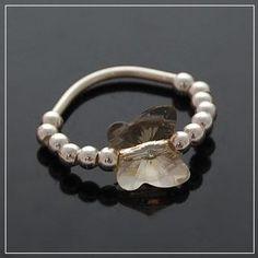 Fashion Wholesale DIY Butterfly Ring - Silver Shadow Bracelet DC25B301 $6.25