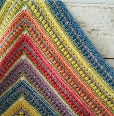 """Namaqualand Blanket Pattern ~ UPDATED APRIL 4, 2017 ~ intermediate level ~  finished size is 1m x 1m (approx. 39"""" x 39"""") ~ FREE - CROCHET"""