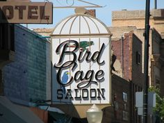 Bird Cage Saloon--Prescott, Az. - One of the three buildings involved in a recent fire.