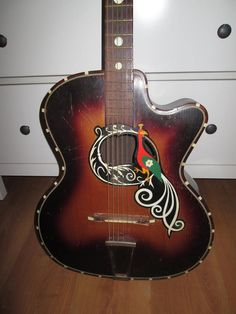 Carmelo Catania de Stradivarius der  gitaren