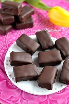Mleczna pianka w czekoladzie Diet Recipes, Candy, Snacks, Chocolate, Food, Sweets, Appetizers, Essen, Chocolates
