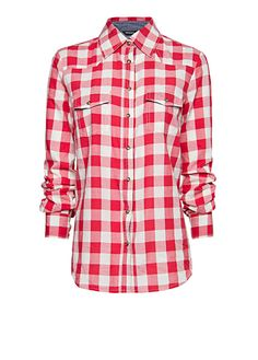 MANGO - Camicia quadri cotone