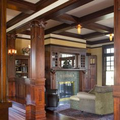 1000+ images about Wood Beam Coffered Ceiling on Pinterest ...