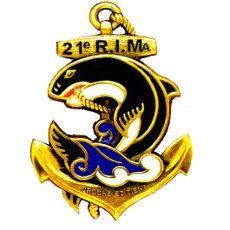 Troupes de Marine - Chant du 21ème RIMa !