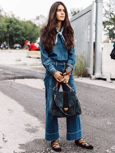5 Chic Denim Looks For Fall