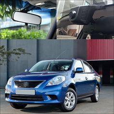 For NISSAN ALMERA 2014 APP Control Car Wifi DVR Car Driving Video Recorder G-sensor 1080P Car Dash Camera Car Black Box