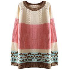 Partiss Women's Fashion Cute Knitted Crewneck Casual Pull... https://www.amazon.com/dp/B01LZYVOBB/ref=cm_sw_r_pi_dp_x_Uej9xbHE612K3