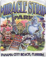 Miracle Strip Amusement Park Panama City Beach sign