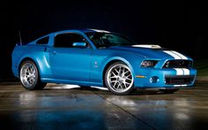 The Carroll Shelby-tribute 2013 Ford Shelby GT500 Cobra.