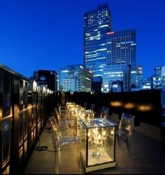 Roku Nana; Tokyo, Japan | Community Post: 11 Rooftop Bars For The Perfect Midnight Rendezvous Abroad
