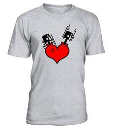 Heart Engine Piston diesel mechanic   car shirts, classic car t shirts #car #carshirt #carquotes #hoodie #ideas #image #photo #shirt #tshirt #sweatshirt #tee #gift #perfectgift #birthday #Christmas