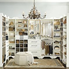 Our Sarah Drawer and Shelf Storage Tower offers the luxury of a custom built-in at a fraction of the cost. Shelves are lined in soft, pale gray fabric to protect expensive clothes and keep them looking newer longer. Cabinet is solidly crafted with matching crown and base details.  Sarah Drawer