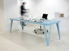 Shop the Lloyd Table and more contemporary furniture designs by Functionals at Haute Living Deco Furniture, Table Furniture, Furniture Design, Furniture Ideas, Handmade Furniture, Outdoor Table Tops, Commercial Office Furniture, Workspace Inspiration, Interior Inspiration