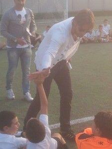 Accademia Calcio | Nicola Legrottaglie saluta i ragazzi dell'Accademia Calcio Mola